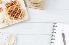 Waffle. Royalty Free Stock Photography