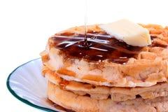 Waffle And Honey Stock Image
