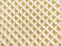 Waffle background. Abstract texture macro Royalty Free Stock Image