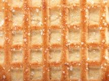 Waffle background Stock Image