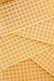 Waffle background Stock Photography