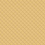 Waffle background.. Wafer seamless pattern. Stock Images