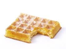 Waffle belga Imagem de Stock Royalty Free