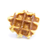 Waffle bread fresh glazed texture Stock Photography