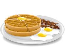 Waffle Breakfast Stock Images