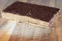 Waffle Cake Stock Photography