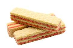 Waffle cake Stock Image