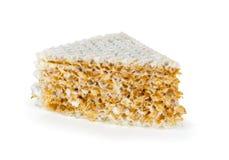 Waffle cake Royalty Free Stock Photography