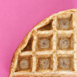 Waffle Close Up Stock Photography