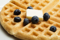 Waffle Close UP Stock Images