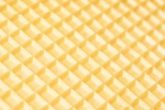 Waffle close up. Abstract background Royalty Free Stock Image