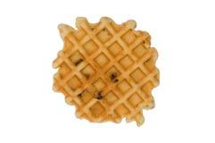 Waffle com raisins Imagem de Stock Royalty Free