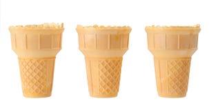 Waffle cones Stock Photos