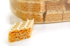 Waffle Cookie Royalty Free Stock Photo