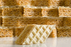 Waffle Cookie Stock Images