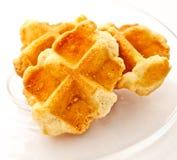 Waffle cookies 1 Stock Image