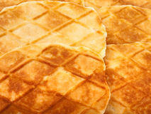 Waffle cookies Royalty Free Stock Images