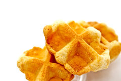 Waffle cookies 2 Royalty Free Stock Photos