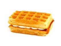Waffle cookies Stock Photography