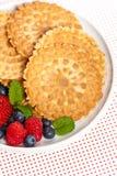 Waffle cookies Stock Photos