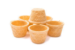 waffle cup Stock Photography