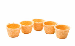 waffle cup Stock Images
