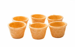 waffle cup Royalty Free Stock Image