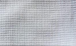 Waffle da tela natural do weave da textura Foto de Stock