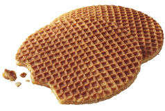 Waffle do Treacle Foto de Stock Royalty Free