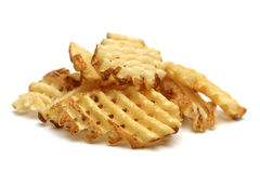 Waffle Fries royalty free stock image