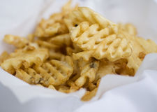 Waffle Fry's Stock Photo