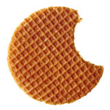 Waffle holandês foto de stock royalty free