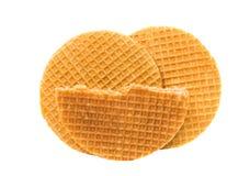 Waffle holandês fotografia de stock royalty free