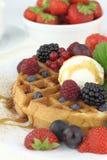Waffle ice cream Stock Photography