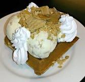 Waffle ice cream Stock Images