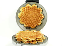 Waffle Iron Royalty Free Stock Photography