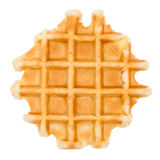 Waffle isolated with path Royalty Free Stock Photography