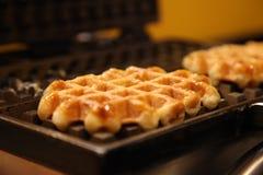 Waffle machine Stock Image
