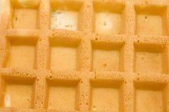 Waffle macro Royalty Free Stock Image