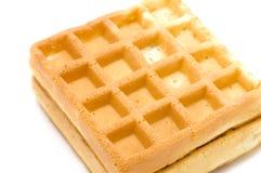 Waffle macro Stock Photos