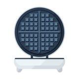 Waffle maker flat icon Stock Photo