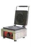 Waffle maker machine isolated on white Royalty Free Stock Images