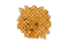 Waffle with raisins Royalty Free Stock Image