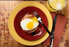 Waffle sandwich Stock Images
