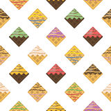 Waffle seamless pattern. Backdrop for your design. Royalty Free Stock Images