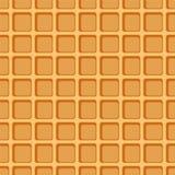 Waffle seamless pattern. Stock Photo