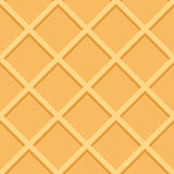 Waffle Seamless Pattern Background Vector Stock Photography