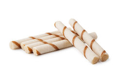 Waffle sticks Royalty Free Stock Photo
