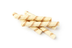Waffle striped rolls Royalty Free Stock Images