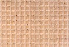 Waffle surface Stock Photography